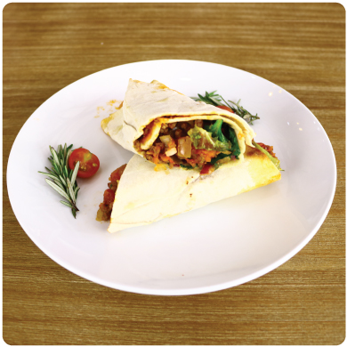 Mince & Cheese Wrap
